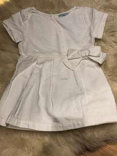 Gingersnaps white dress 24m