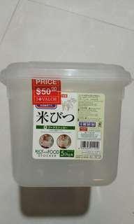 米缸 一小膠箱