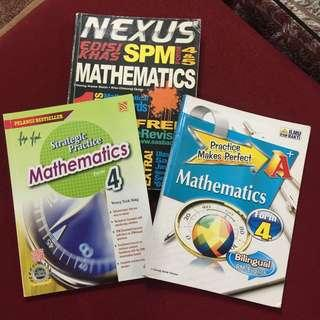 SPM MATH Reference Book