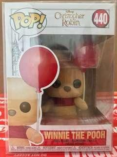 Pop! Christopher Robin - Winnie the Pooh with Red Balloon
