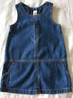 denim dress for 2 years old