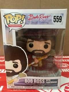 Pop! TV #559: Bob Ross: Bob Ross with Paintbrush