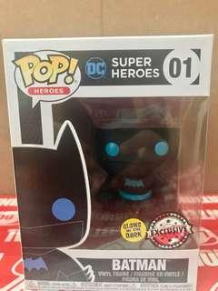 Funko Pop! Movies: Batman v Superman - Batman GITD