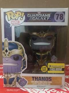 Pop! Movies #78: Guardians of the Galaxy - Glow-in-the-Dark 6-inch Thanos (Entertainment Earth Exclusive)