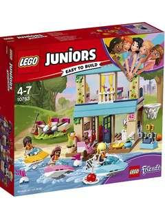 🚚 New LEGO 10763 Juniors, Stephanie's Lakeside House