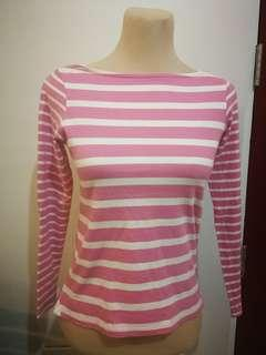 Uniqlo Long Sleeves Pink (Small)