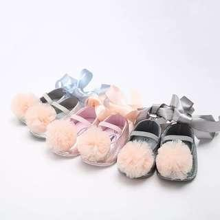 Baby Sweet Cute Flower Strap Dance Princess Shoes Infant Girls First Walkers