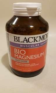 Blackmore Bio Magnesium 預防肌肉抽筋