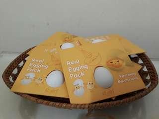 🚚 韓國雞蛋睡美人膜 韓國雞蛋面膜 蛋殼面膜