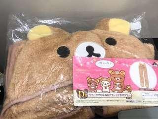 日版鬆弛熊頭套~D賞~