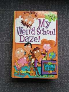 My weird school daze Book 1~4 (4 books in 1)