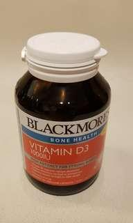 Blackmore Vitamin D3 1000IU 有助強健骨骼