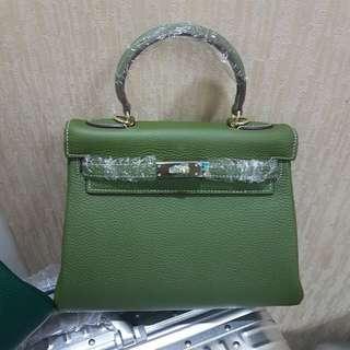 Kelly 28cm Olive Green