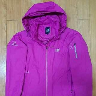 KARRIMOR Magenta Outdoor Jacket (Windproof and Waterproof) . Women