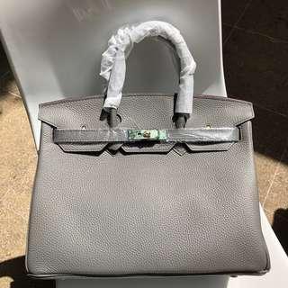 Birkin 35cm Asphalte Grey