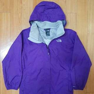 THE NORTH FACE Purple Outdoor Jacket [Woman Mountain Gear] . Windproof