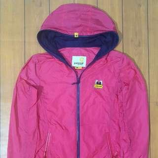 PANCOAT PINK windrunner jacket. Women. size XS