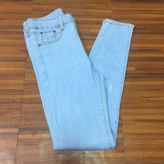 Acid Washed Highwaisted Jeans