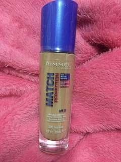 New Rimmel Match Perfection 303 true nude