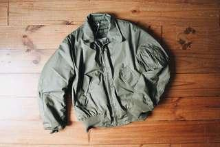 Vintage US Army CVC jacket / Medium Ragular坦克夾克 美軍公發  似ma1