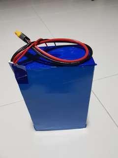Custom  LGMJ1 Battery Pack