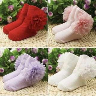Flower socks set