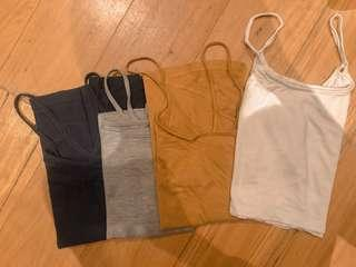 Package of 4 Tanktops
