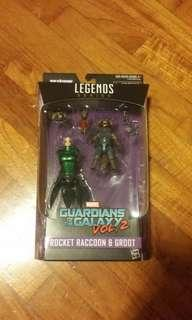 Guardians Of The Galaxy Vol.2 Rocket Raccoon & Groot