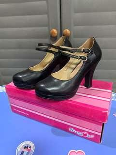 Sugar pump shoes black