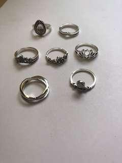 NEW AND IMPORTED set cincin
