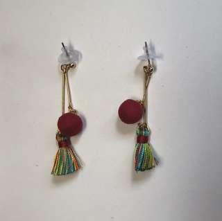 NEW AND IMPORTED anting merah