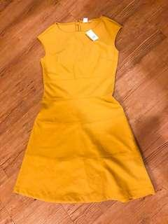 GAP yellow dress