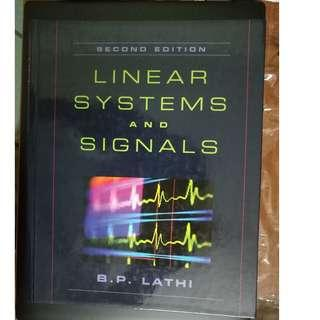 Linear Systems and Signals [B. P. Lathi] (hardcover)