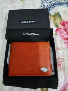 Dolce & Gabbana Wallet ( Limited Edition Orange)