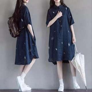 🚚 [PO] EurAmerica Printed Shirt Dress (37)