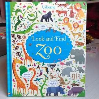 🚚 Usborne Look and Find Zoo