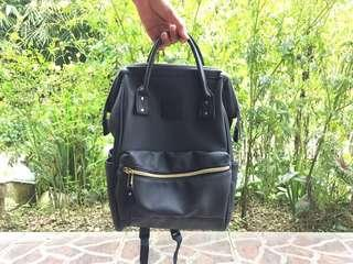 Anello Backpack Mini Original - Navy Leather
