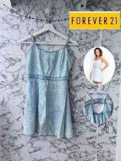 forever21 denim dress