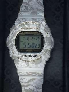 Casio G Shock Japan Limited Seven Gods DW5700SLG7JR