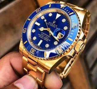 Rolex Submarine YG with diamond dial