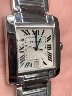 Cartier french full White Gold medium size like new . Retail about 250'000