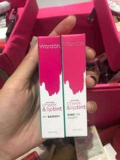 Lip tint wardah