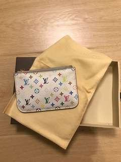 Louis Vuitton 村上隆 彩印零錢包 coin bag