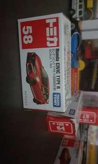 Tomica 58 civic red
