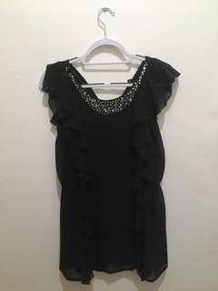 H&M Black with Studs Size XS