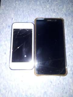 Iphone5s and redmi note 3