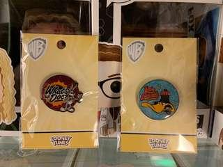 🚚 Looney tunes pin badge