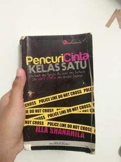 Novel 'Pencuri Cinta Kelas Satu'