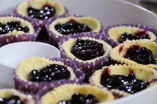 Blueberry creamcheese cupcake