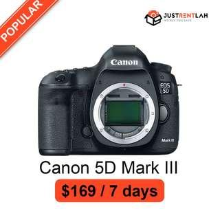 [RENT] Canon EOS 5D Mark III DSLR Camera (Body Only)